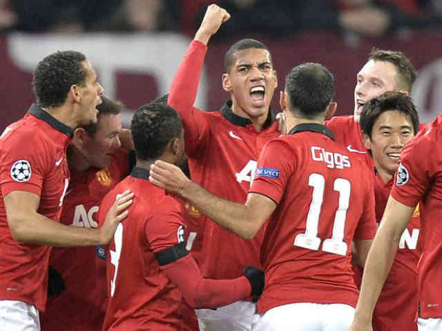Manchester United reach the next stage of the Champions League