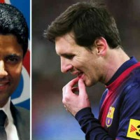 Nasser Al-Khelaifi is a big fan of Lionel Messi but will not try bringing him to Paris St. Germain