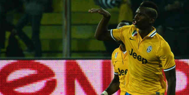 Paul Pogba seals a victory for Juventus
