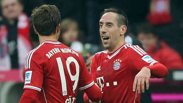 Ribery once again comes with his goals