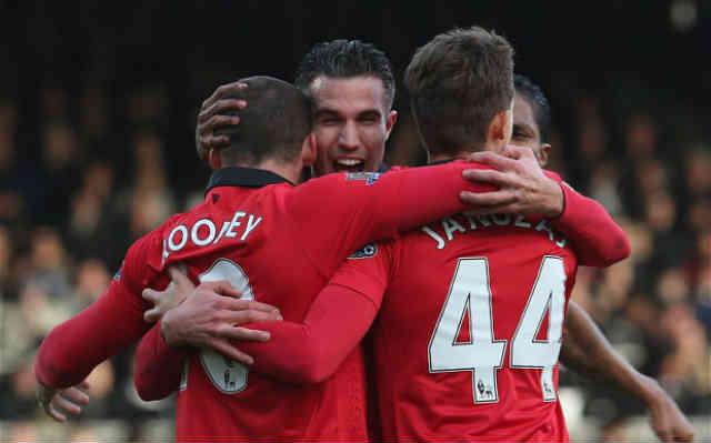 Robin Van Persie brings hope back to Manchester United after their win against Fulham