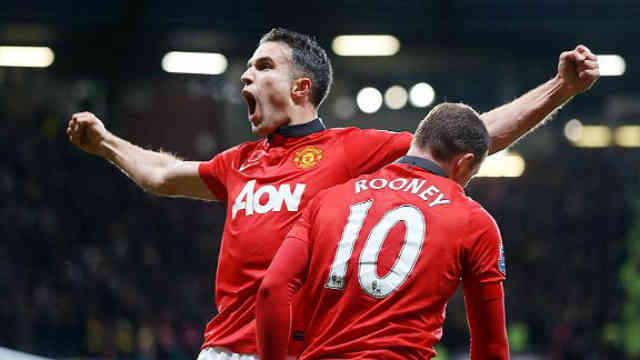 Robin Van Persie brings the victory to Manchester United agains Arsenal