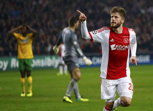 Schøne gets a Ajax the win against Celtic in the Champions League