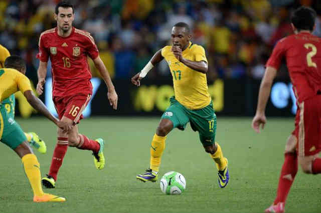 South Africa get a win against Spain in their friendly