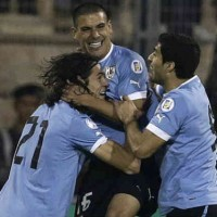 Jordan 0 : 5 Uruguay World Cup Qualifiers Highlight