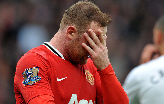 Wayne Rooney and Manchester United suffer more despair