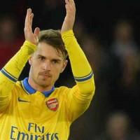Aaron ramsey once again scores for the Gunners