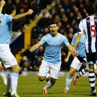 Aguero gets his goal once again for Manchester City