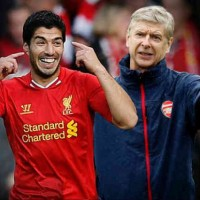 Arsene Wenger impressed with Luis Suarez