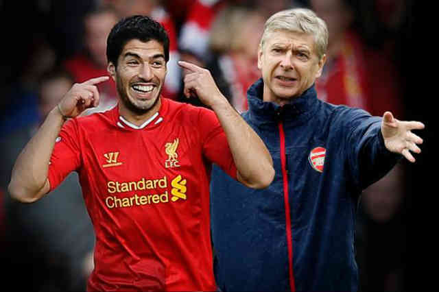Arsene Wenger will continue to get Suarez with the Gunners on January