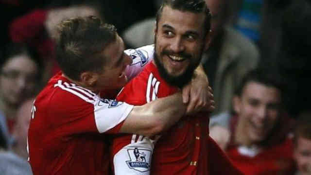 Osvaldo brings an amazing goal and manage to get Southampton a point against Manchester City