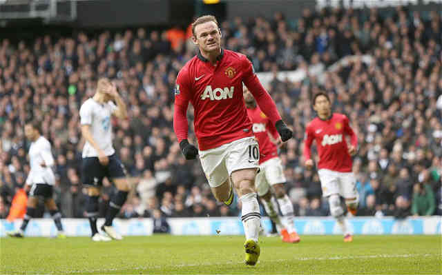 Rooney managed to get a draw for Manchester United
