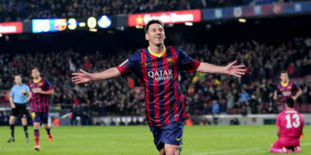 After Lionel Messi he has come back to score once again