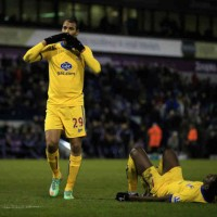 Chamakh once again brigns another goal for the Eagles against West Brom in the FA Cup