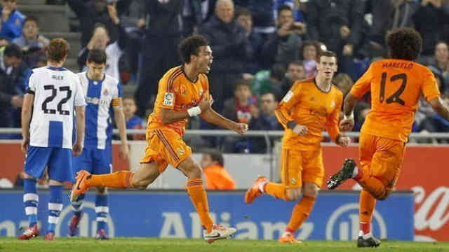 Pepe gets his smashing goal which won the game for Real Madrid