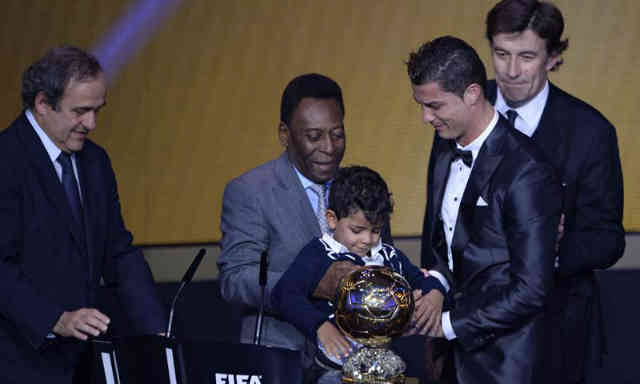 Ronaldo once again wins the Ballon d'Or