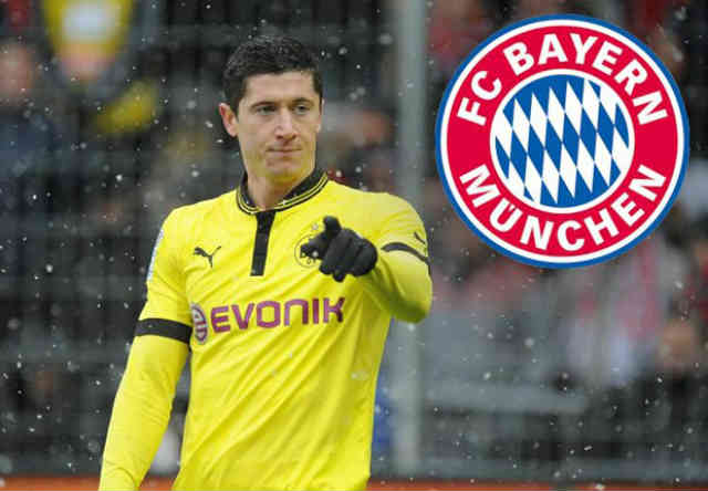 So the transfer been done for Lewandowski as he join Bayern Munich