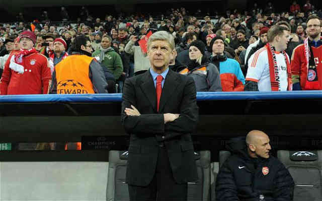 Arsene Wenger is ready for Bayern Munich tonight!