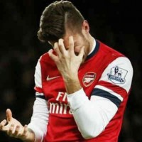 Giroud will face punishment by the Gunners