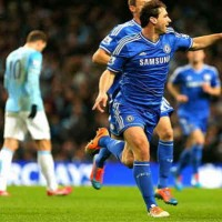 Ivanovic brings the win for the London team, ChelseaIvanovic brings the win for the London team, Chelsea