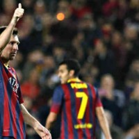 Lionel Messi is back on form with Barcelona