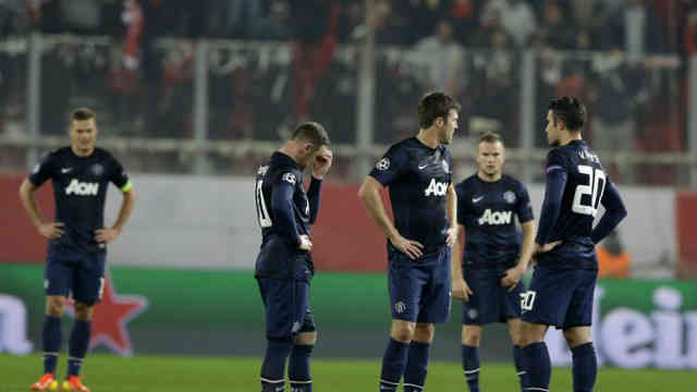 Manchester United disappointed with the result they had in Greece