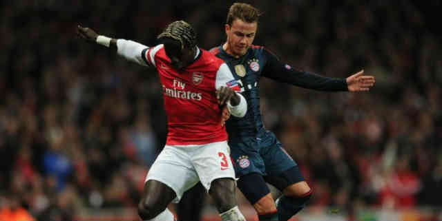 Sagna is ready for the second leg against Bayern Munich in the Champions League