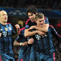 Arsenal 0 : 2 Bayern Munich Champions League Highlights