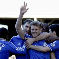Schürrle get his hat-trick for Chelsea