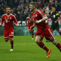 Schweinsteiger brings a secure goal for the Barvian team