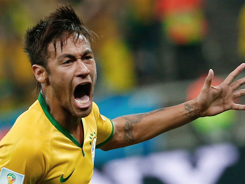 Brazil fans rejoice in Sao Paulo and Rio after Neymar's double gives Selecao victory