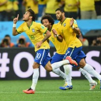 Neymar opens the game up as he makes a come back for Brazil to come back with a victory
